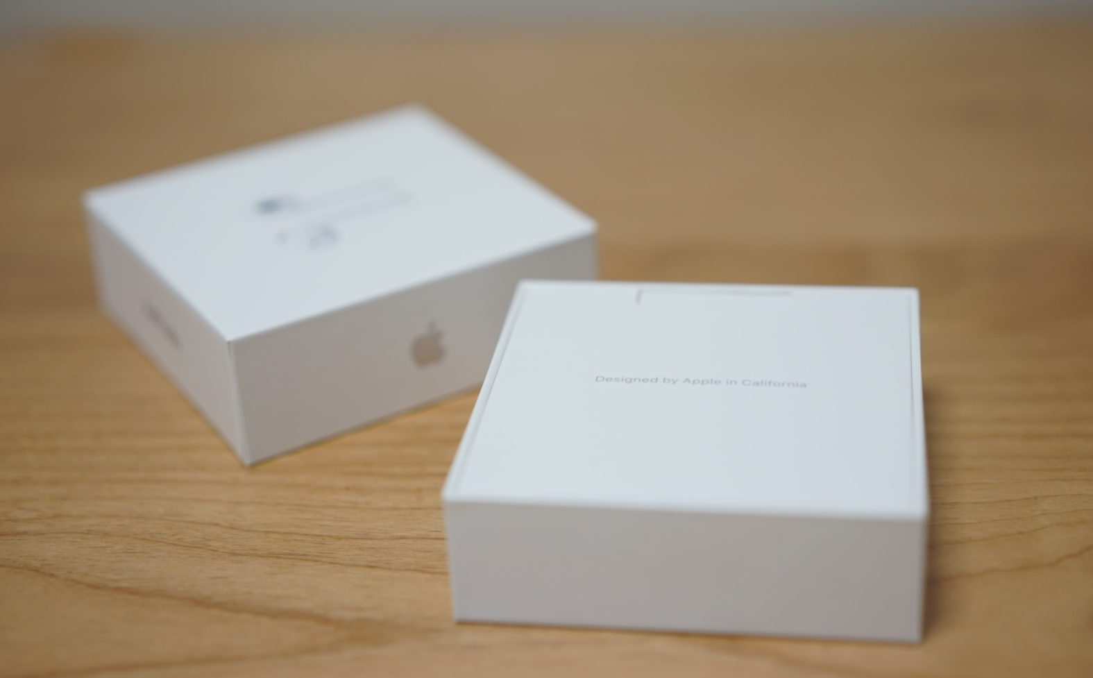 airpods opened box