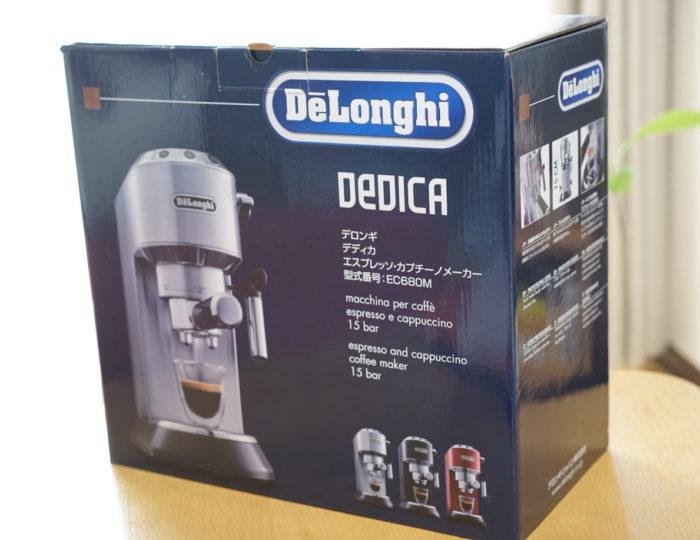 デロンギ EC-680 箱