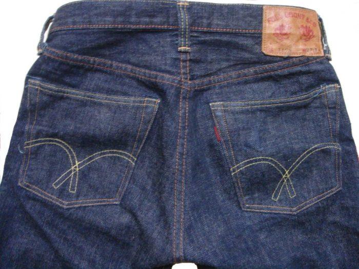 Fullcount 1108 1 wash back pockets