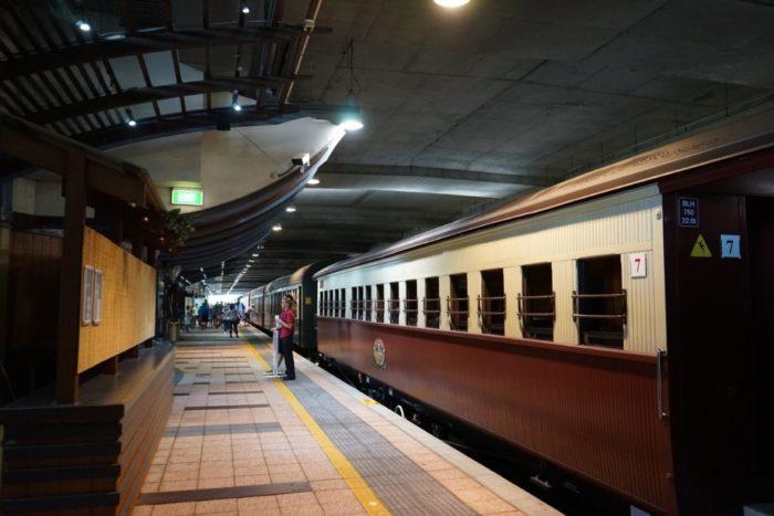 ケアンズ駅 キュランダ鉄道