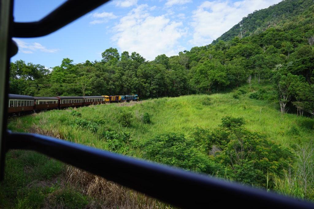 Kuranda Scenic railway キュランダ高原列車 オーストラリア ケアンズ