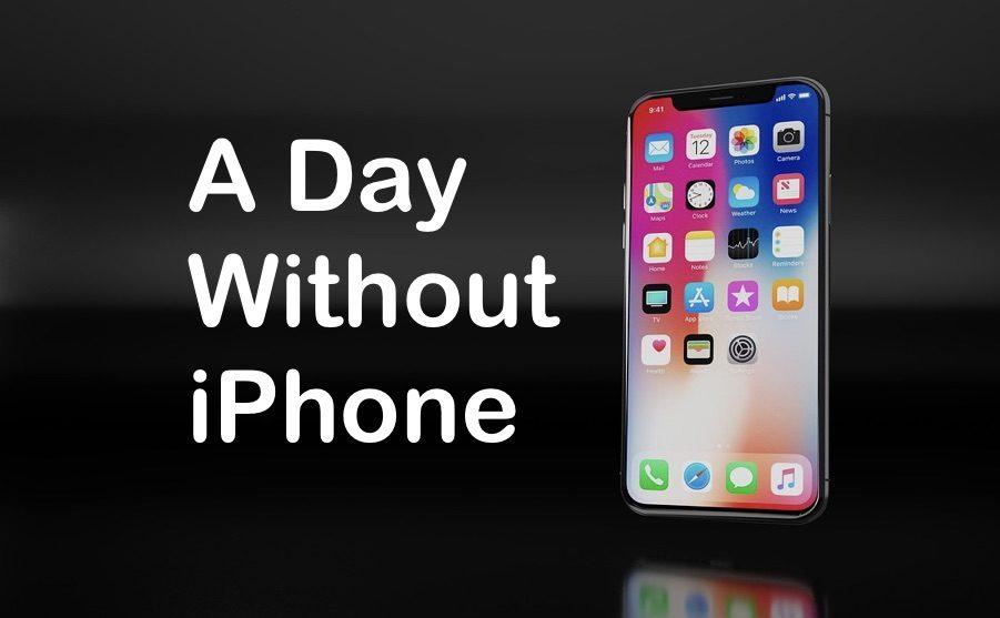 iPhoneを家に忘れた1日