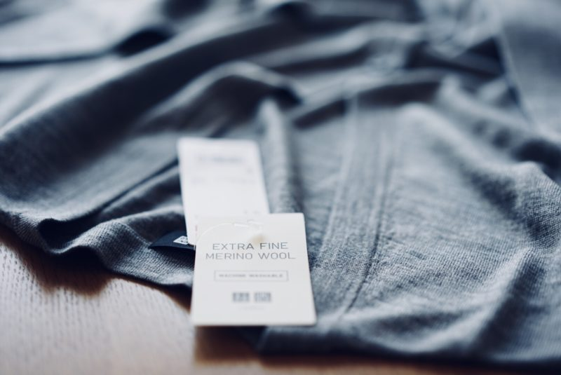 Uniqlo Extra fine merino wool cardigan