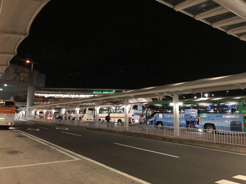 成田空港 バスターミナル