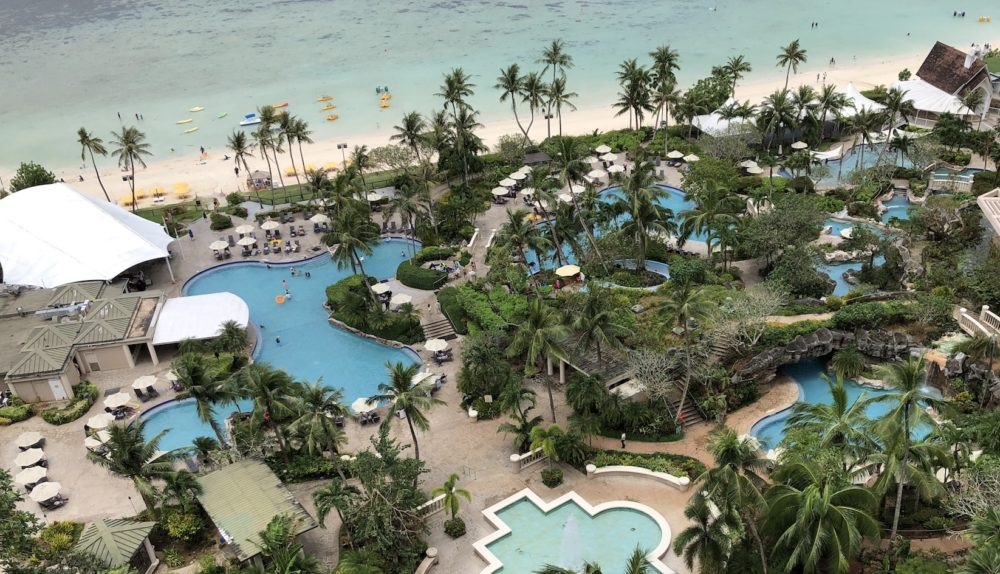 hyatt regency guam pool プール