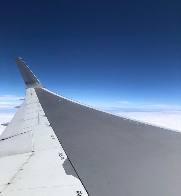 飛行機 to Guam