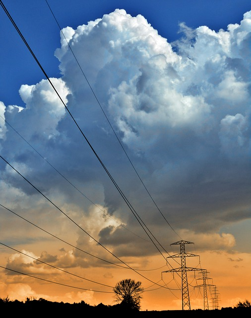 電力ネットワーク 電線
