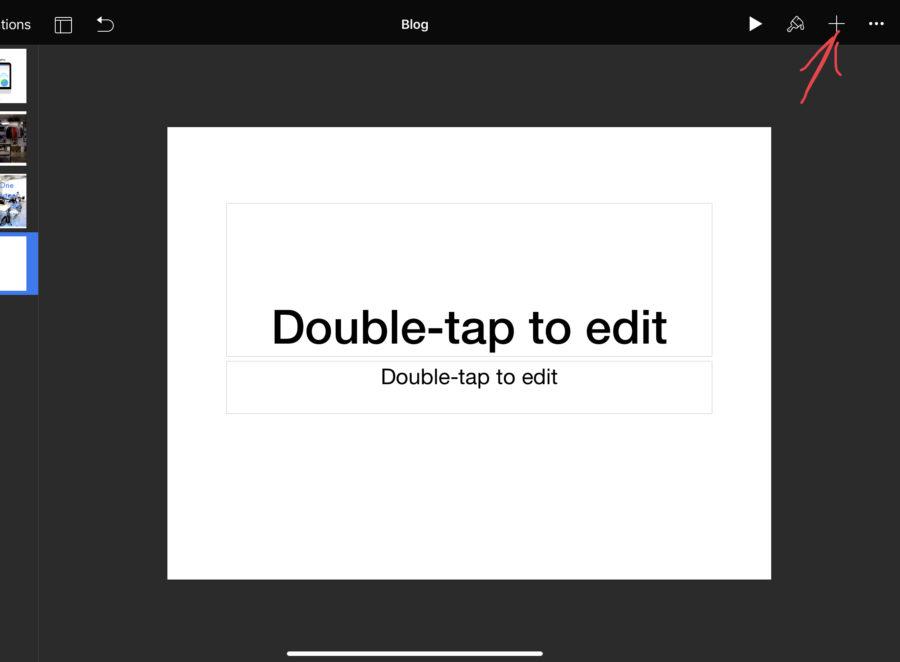 Keynoteでブログのアイキャッチ画像を作成