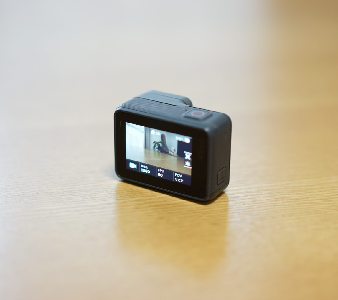 GoPro hero5 display
