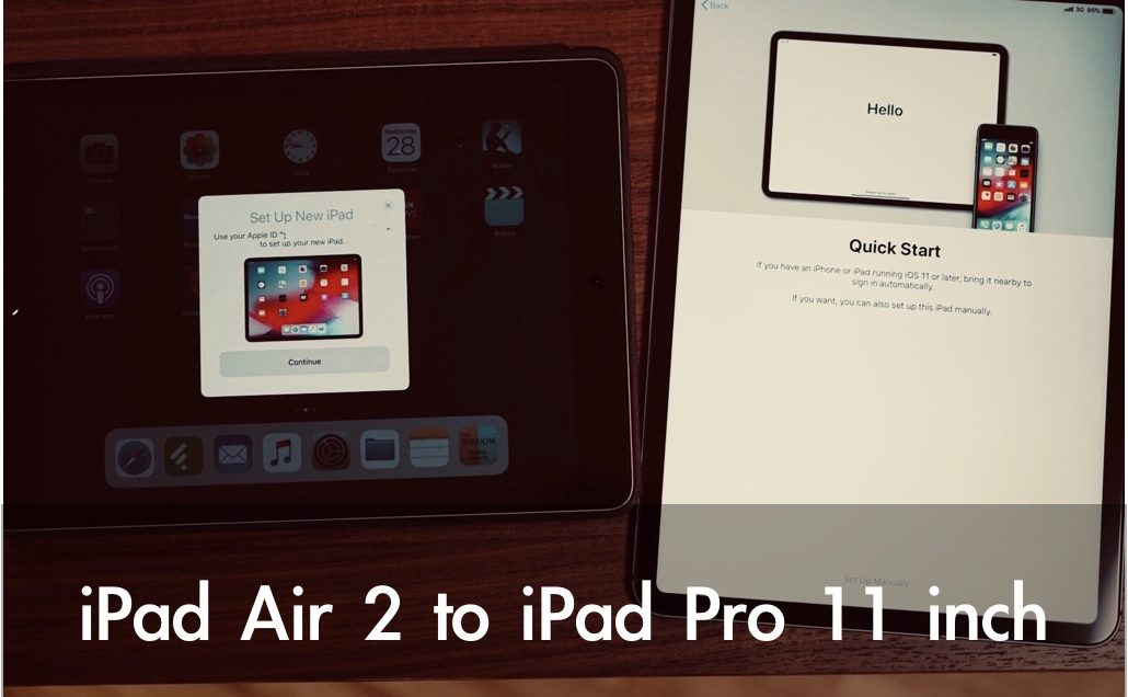 iPad Pro データ移行