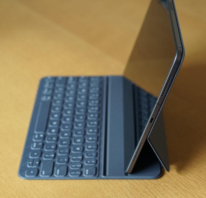 iPad Proセットした状態 浅い