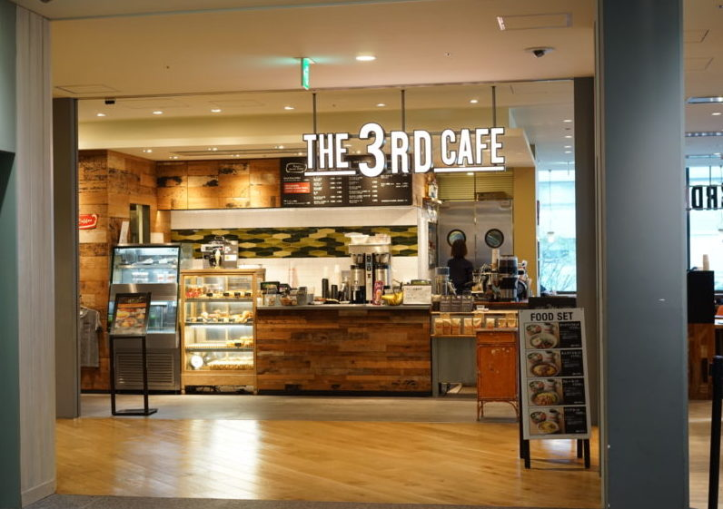 The 3rd cafe 品川シーズンテラス カウンター