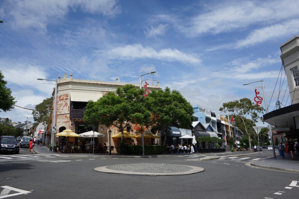 Paddinton area シドニー