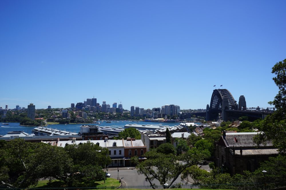 シドニー天文台からの景色