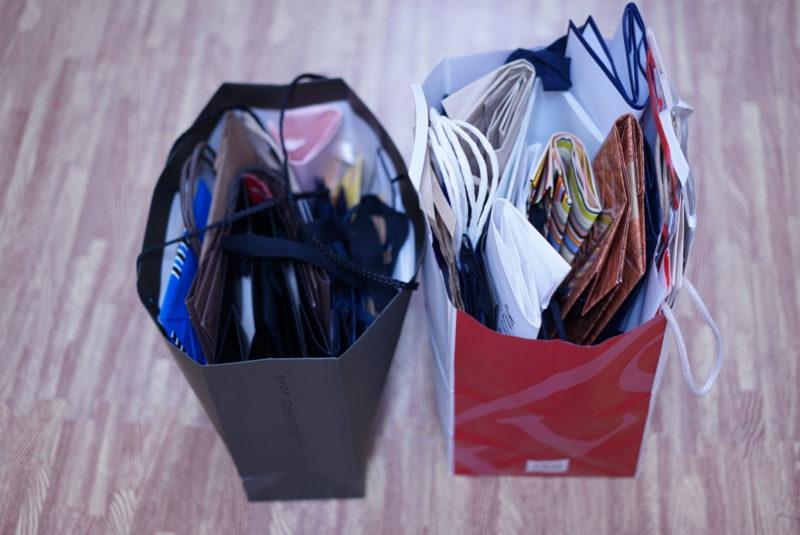 紙袋を断捨離しよう