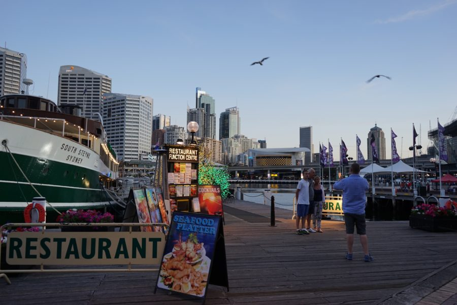 シドニーのダーリンハーバー