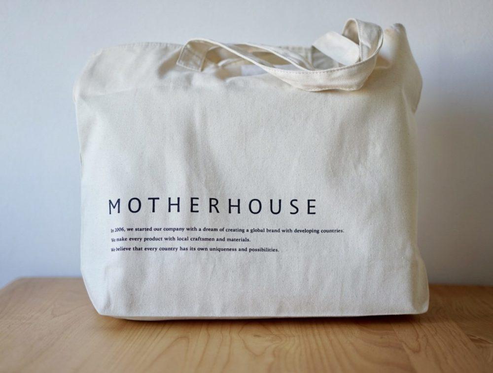マザーハウス 買い物バッグ