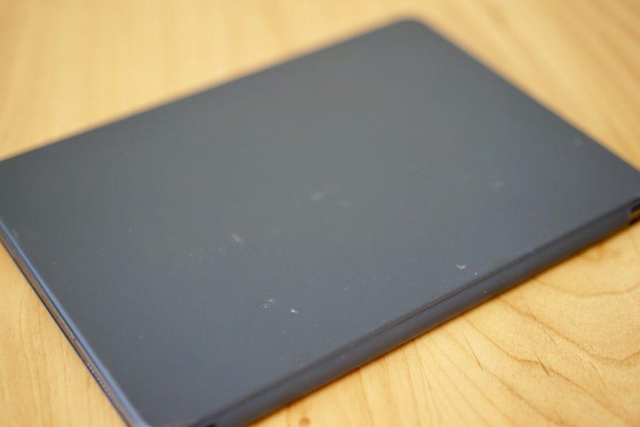 IPad Proのスマートカバーに汚れ