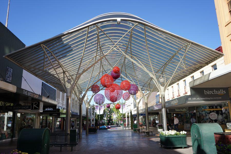 タスマニア ロンセストンのショッピングモール
