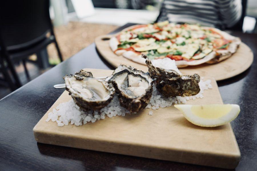 Lunch Tasmania 牡蠣