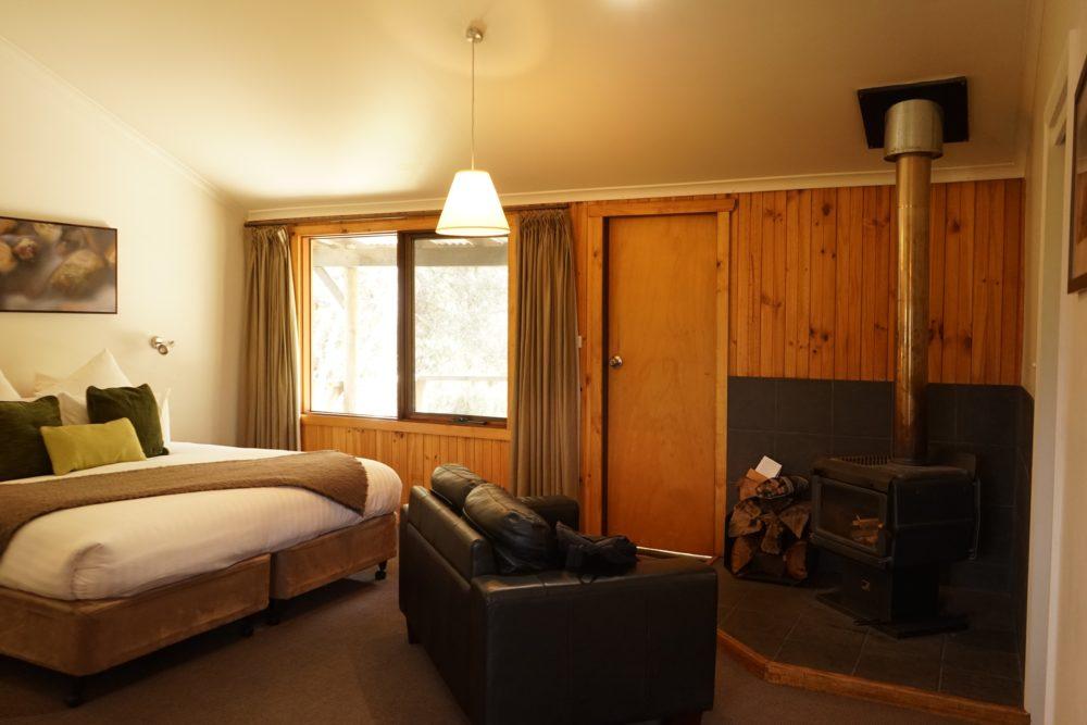 クレイドルマウンテンロッジの部屋