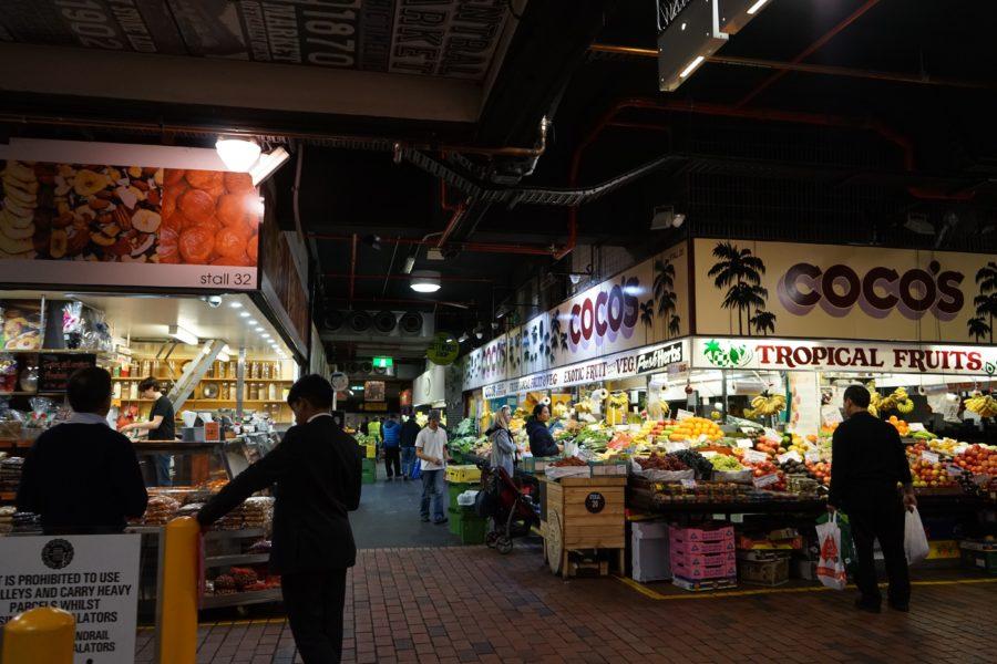 アデレードのマーケット
