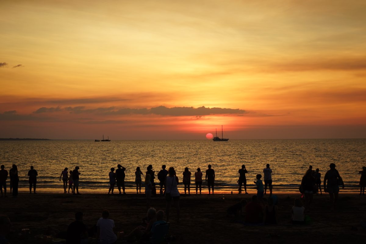 Darwin Mindile Beach Sunset