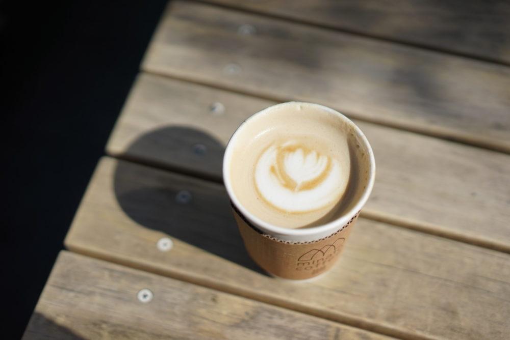ラテアート minato-coffee