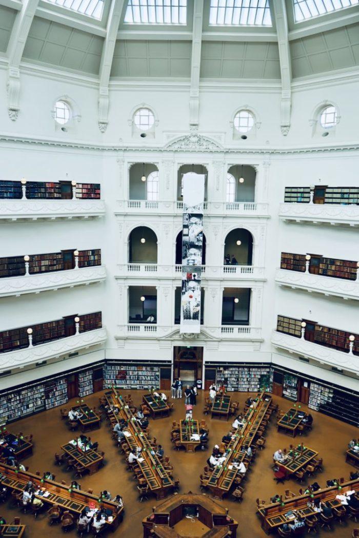 州 図書館 メルボルン