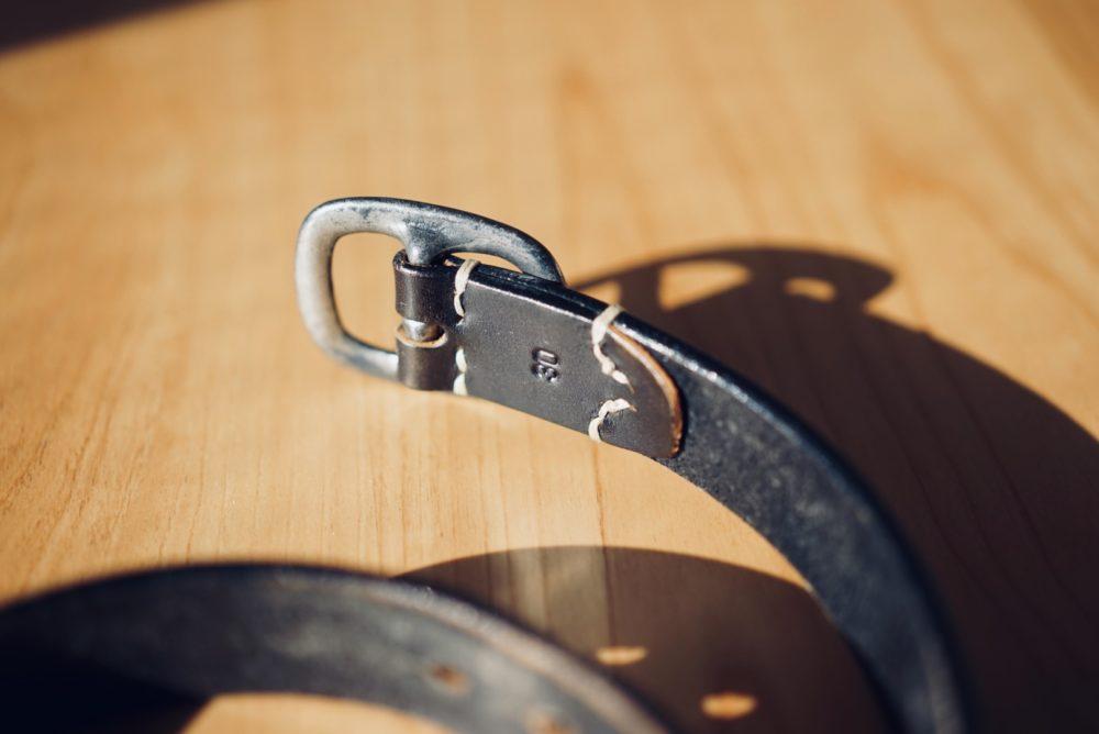 FULLCOUNT leather belt