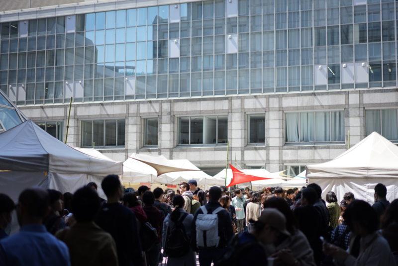東京コーヒーフェスティバル 混雑度合い