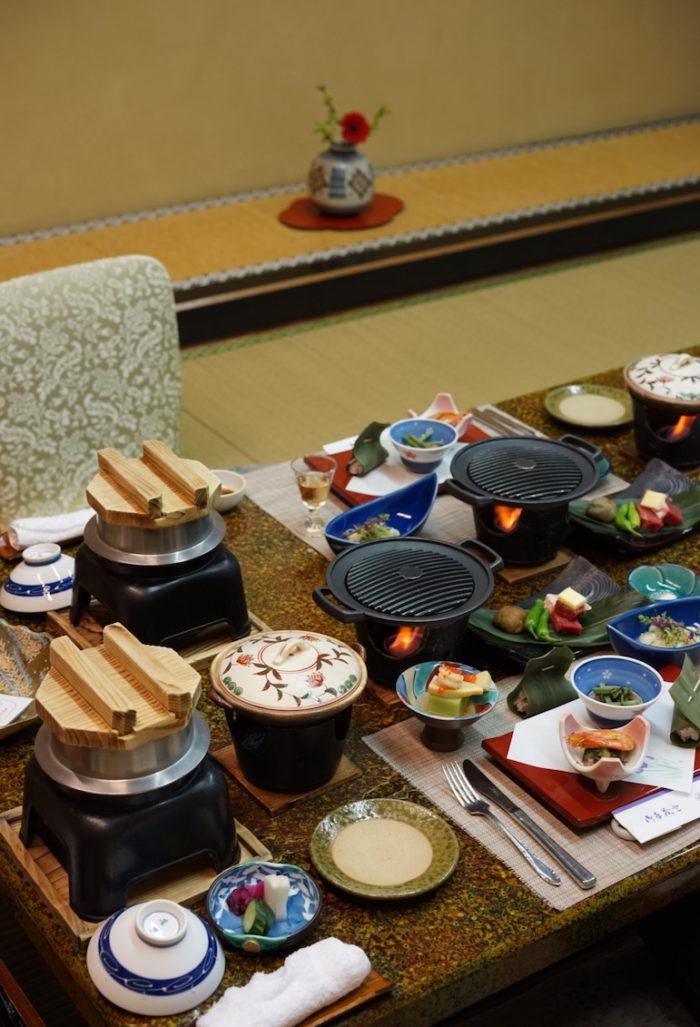 夕食 湯の宿おお川 熱海温泉