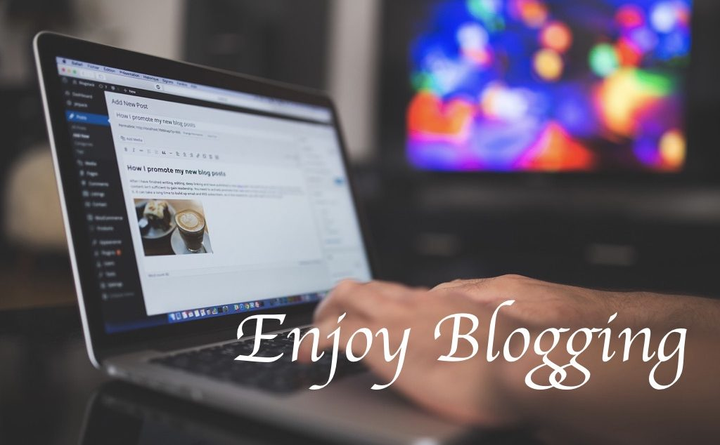 enjoy blogging