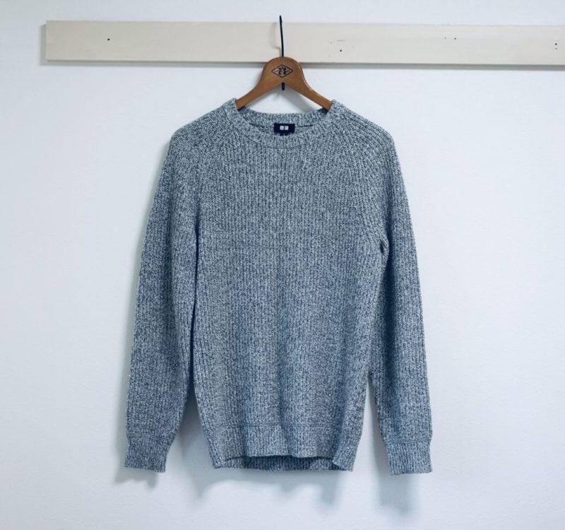 グレー セーター