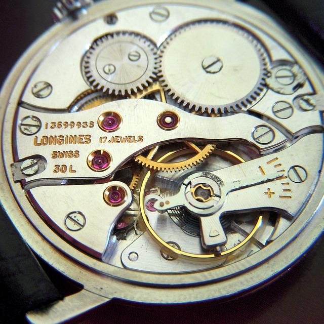 ムーブメント 機械式時計