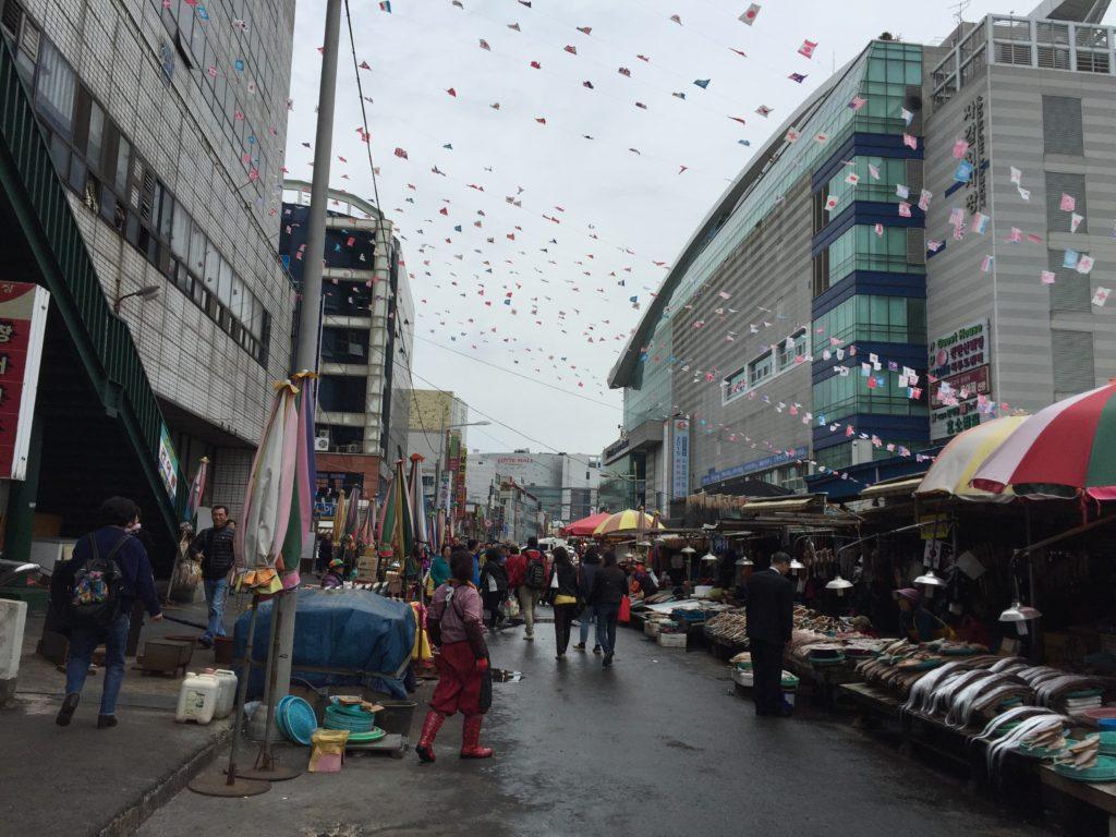 ジャガルチ市場 釜山
