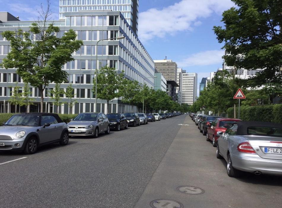 フランクフルトの道