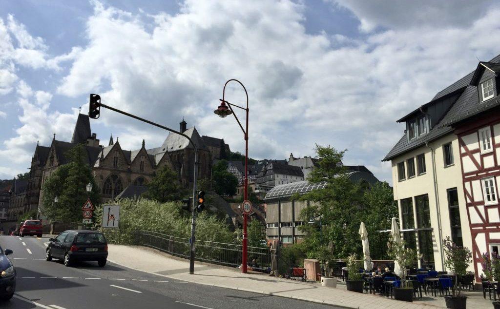 マールブルク ドイツの街並み