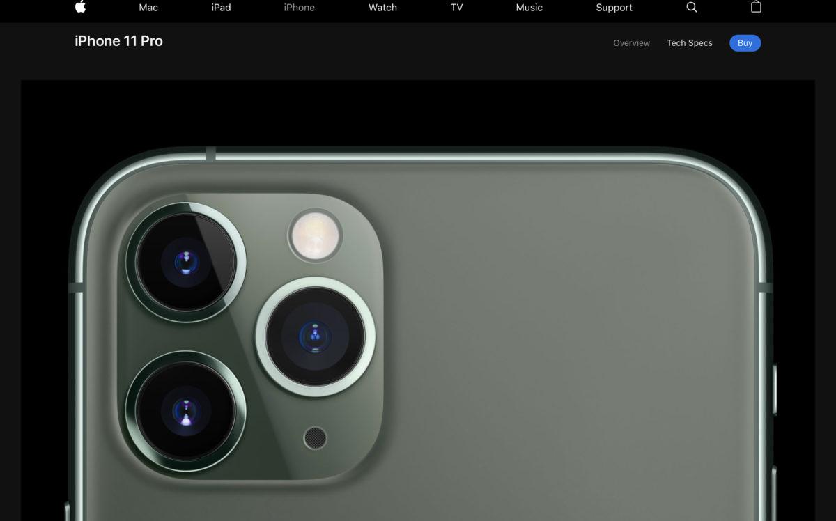 IPhone 11 pro カメラ 3つ