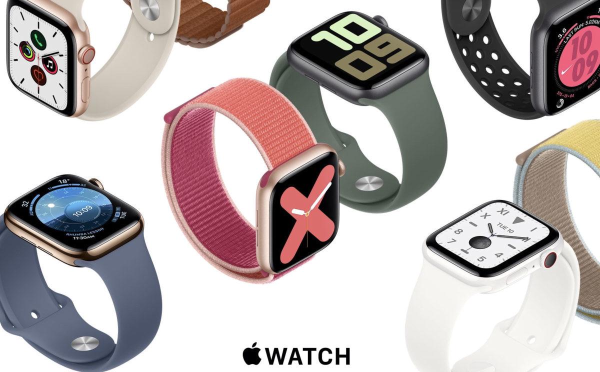 Apple Watch Series 5 公式ウェブサイト