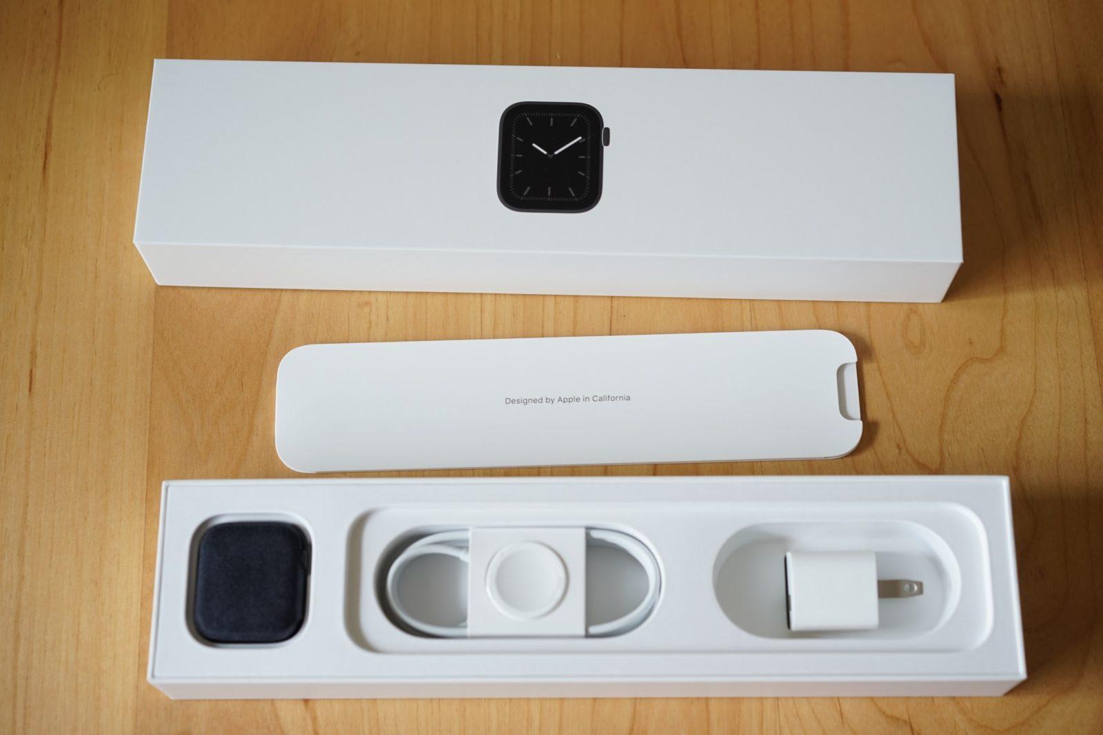 Apple Watch 箱 時計本体の