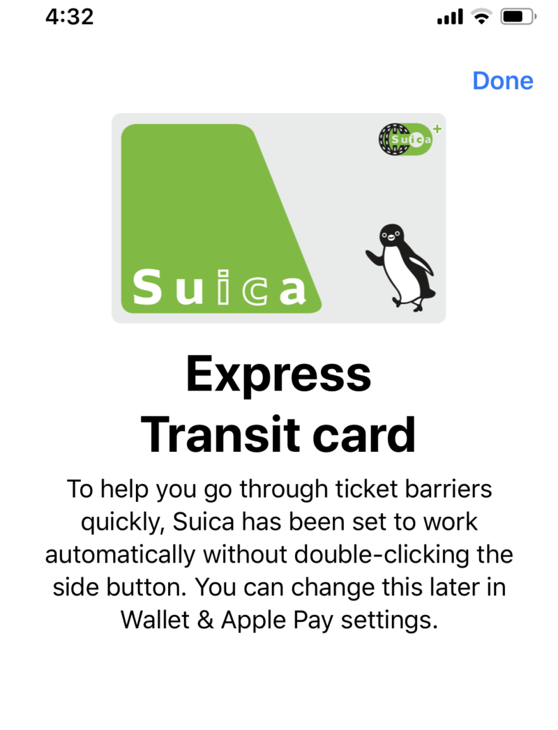 express transit card set