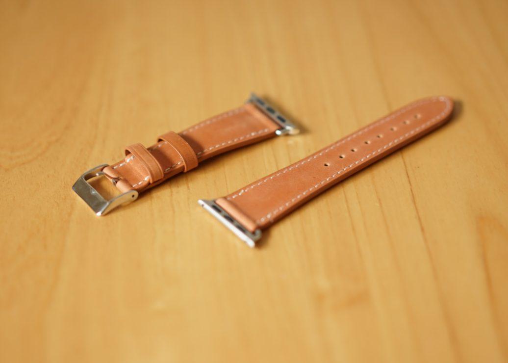 BRG コンパチブル Apple Watch 革バンド