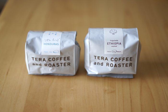 テラコーヒー 豆 2つ
