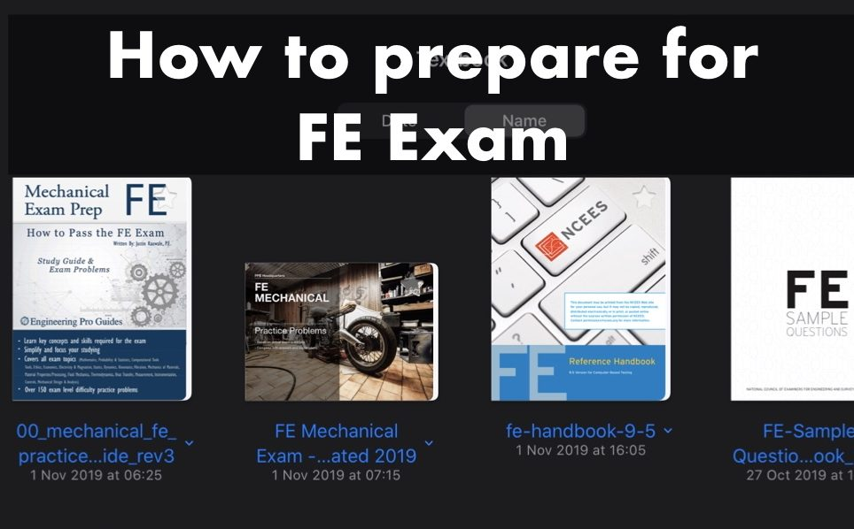 FE試験に向けての勉強方法