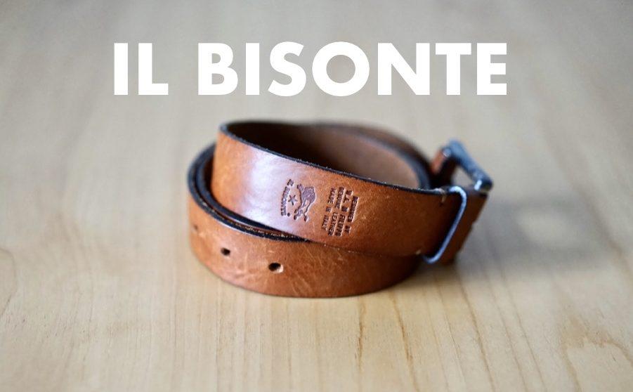 IL BISONTE Belt ベルト イルビゾンテ