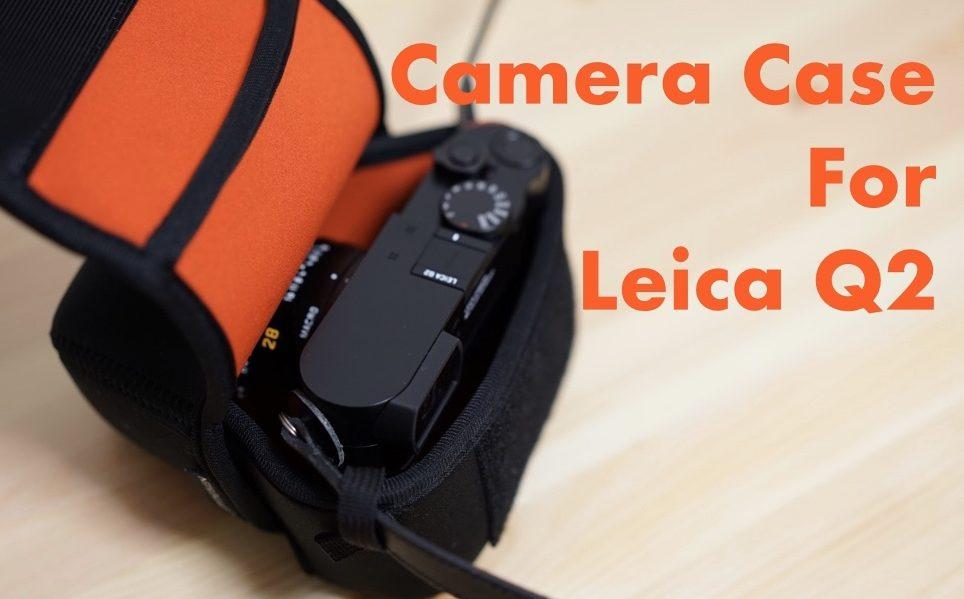 ソフトカメラケース ライカQ2