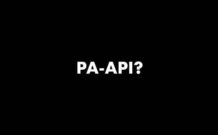 PA-API?