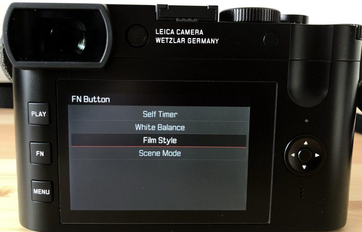 Leica Q2 FNボタンの設定