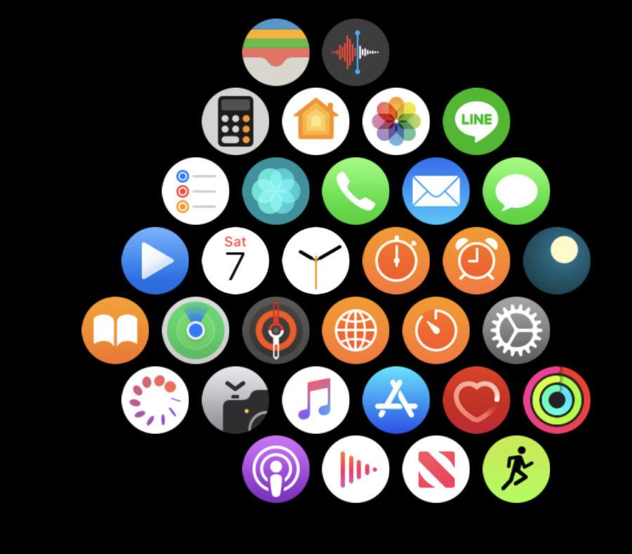 APP Apple Watch 画面